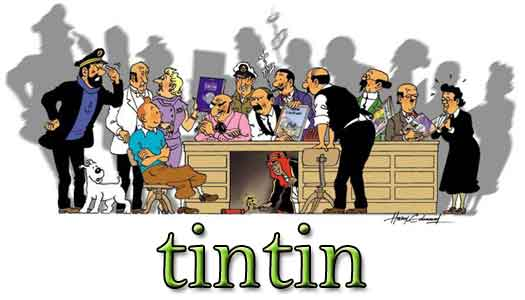 tintin wallpaper. Tintin Homage