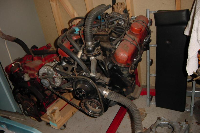 Early A Body V8 Engine Swap